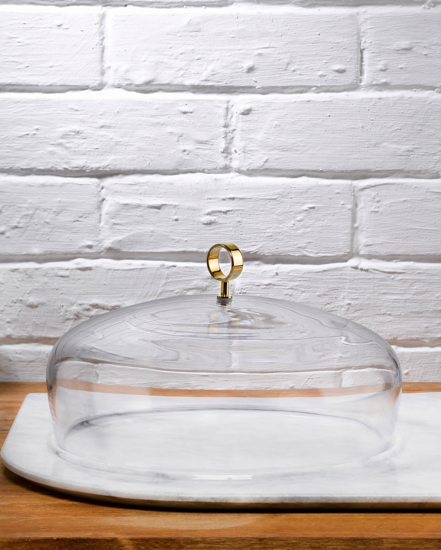 Nude Glass Cupola Meidum Cake Dome 2