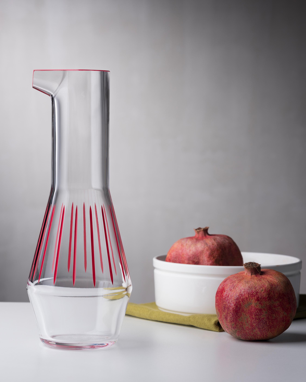 Nude Glass Beak Iris Apfel Inspiration Carafe 0