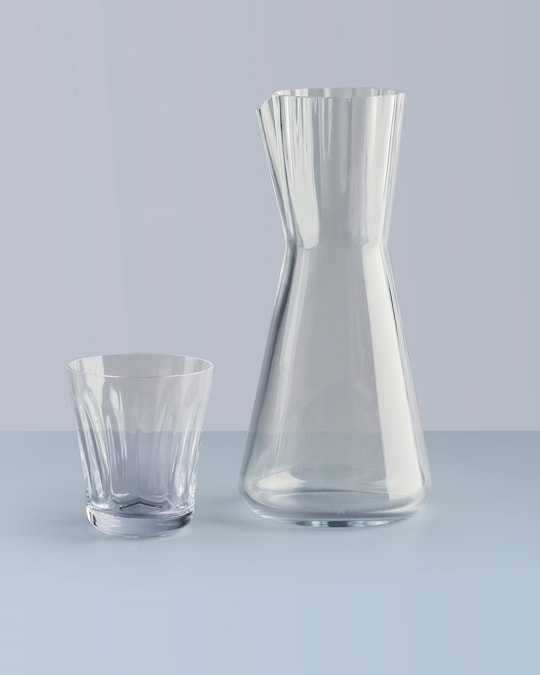 Nude Glass Lady Water Carafe 1