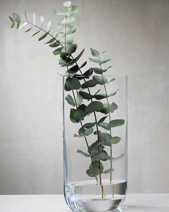 Nude Glass Tall Blade Vase 2