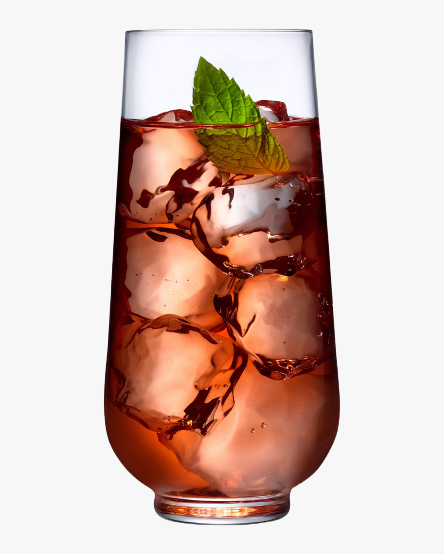 Nude Glass Hepburn Long Drink Glasses Set of 4 1