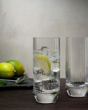 Big Top High Ball Glasses Set - 10oz