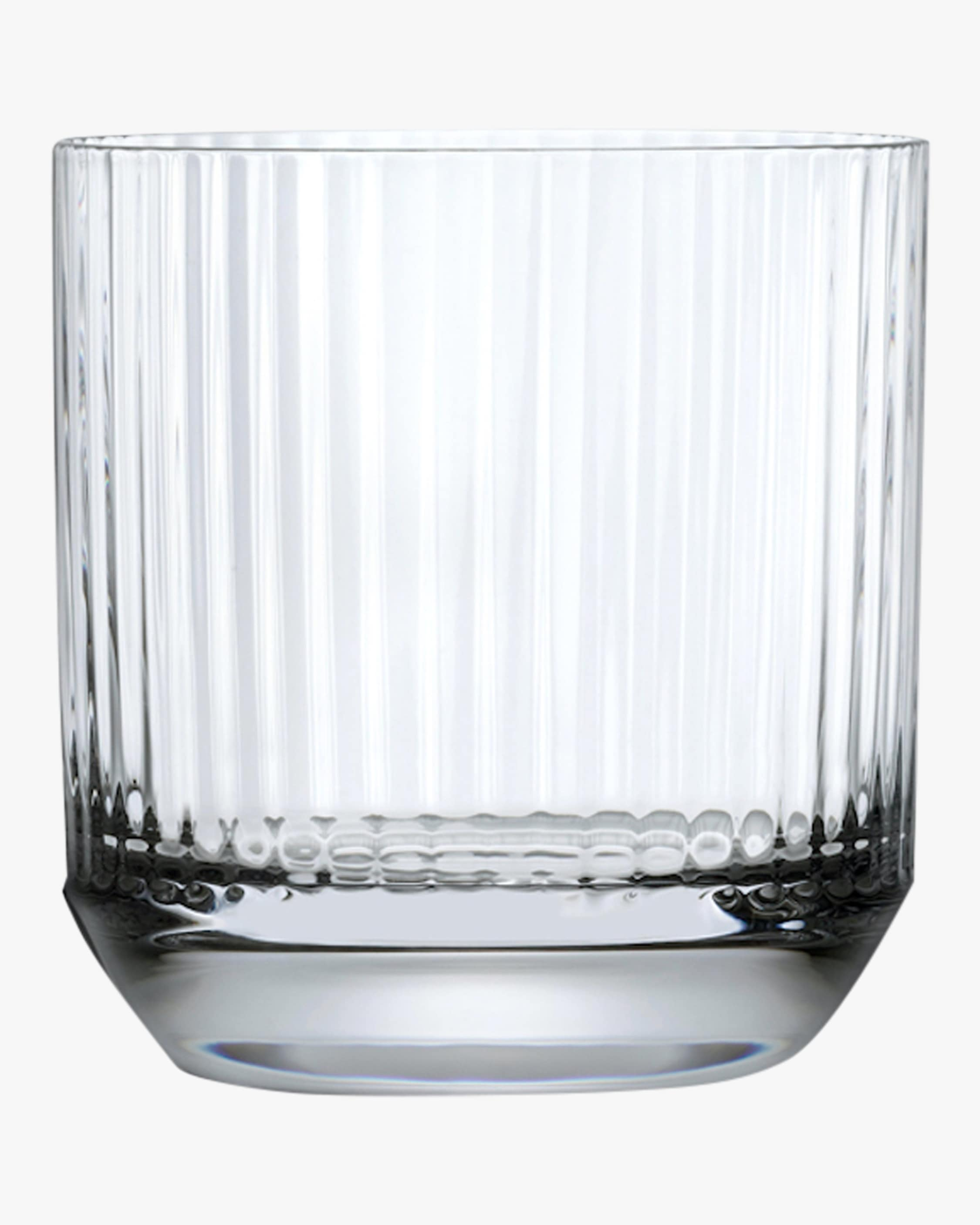 Nude Glass Big Top Whiskey DOF Glasses Set of 4