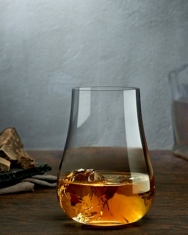 Nude Glass Vintage Whisky Glasses Set of 2 2