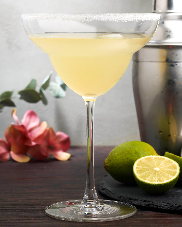 Nude Glass Vintage Margarita Glasses Set of 2 2
