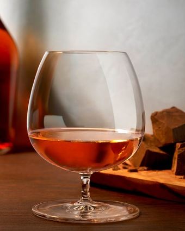 Nude Glass Vintage Cognac Glasses Set of 2 2