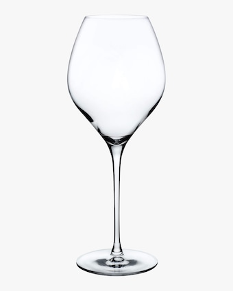 Nude Glass Fantasy Tall White Wine Glasses Set of 2 2