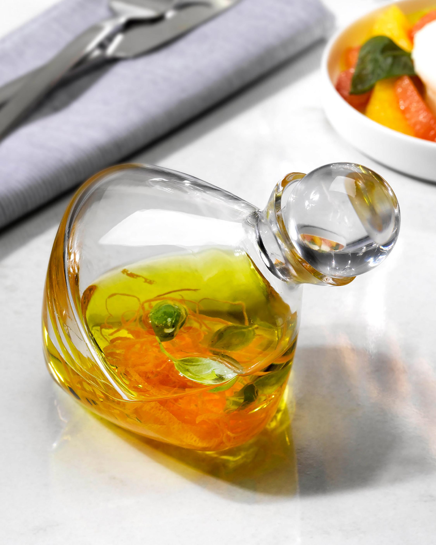 Nude Glass Olea Oil & Vinegar Bottle 1