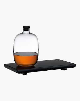 Malt Whiskey Bottle & Tray