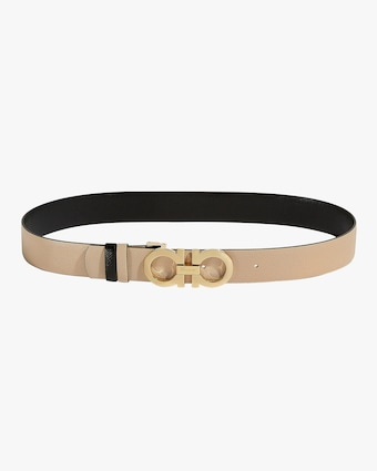 Salvatore Ferragamo Reversible Gancini Leather Belt 1