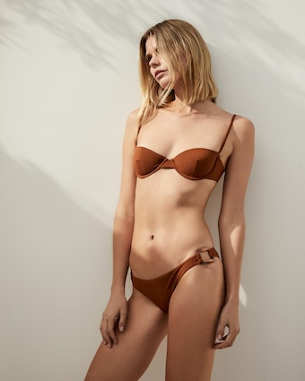 The Balconette Underwire Bikini Top