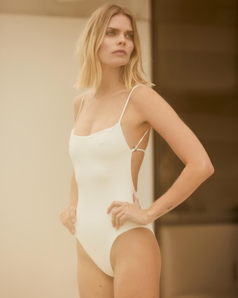 The KMT Wrap One-Piece Swimsuit