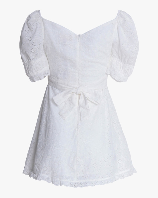 Divine Heritage Off-Shoulder Mini Dress 1
