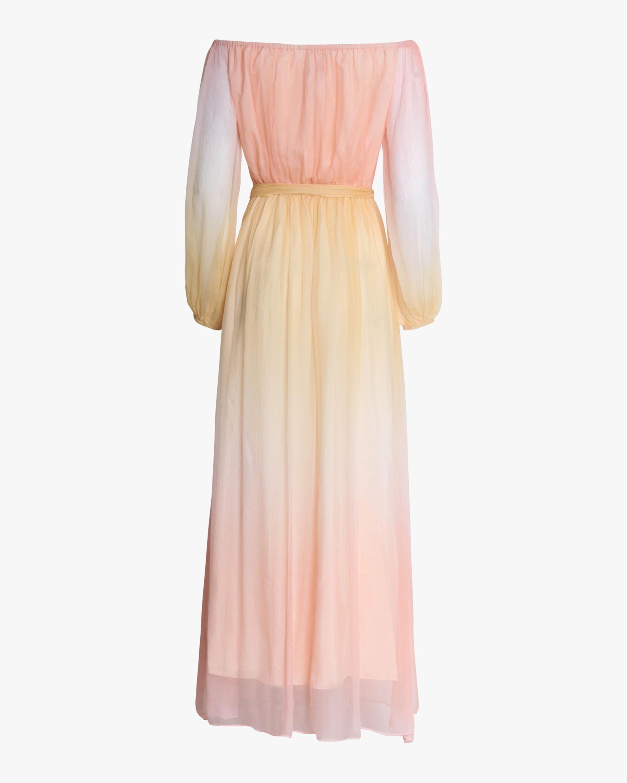 Divine Heritage Off-Shoulder Maxi Dress 2