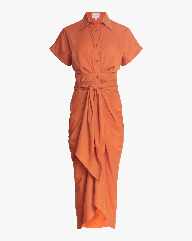 Divine Heritage Belted Shirt Dress 1