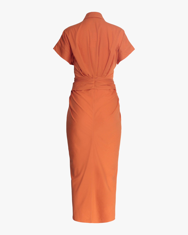 Divine Heritage Belted Shirt Dress 2