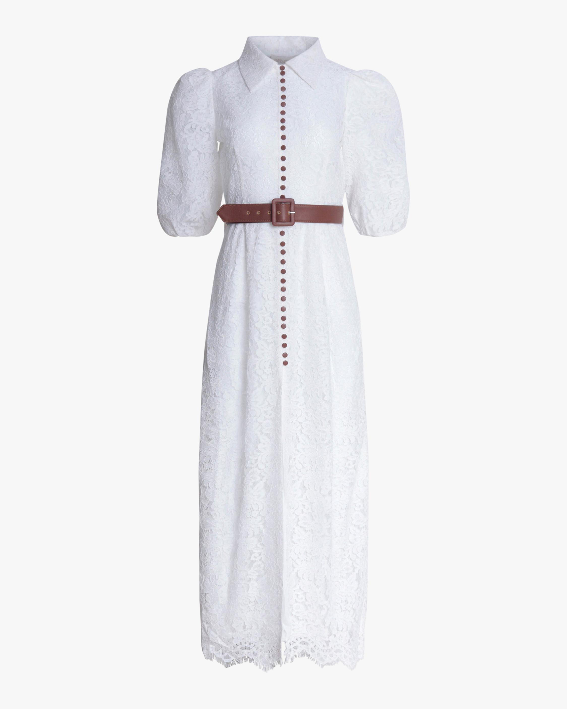 Divine Heritage Lace Button-Up Maxi Dress 1