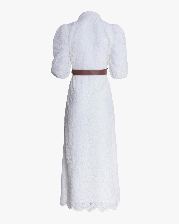 Divine Heritage Lace Button-Up Maxi Dress 2
