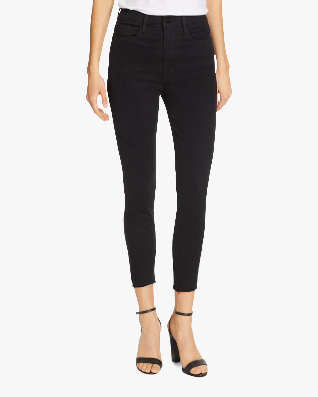 Ali High-Rise Crop Jeans