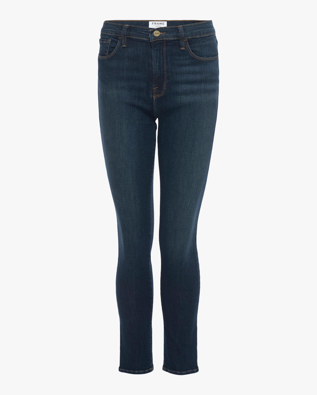 Ali High-Rise Cigarette Jeans