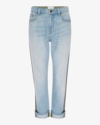 Le Beau Cargo Cropped Jeans