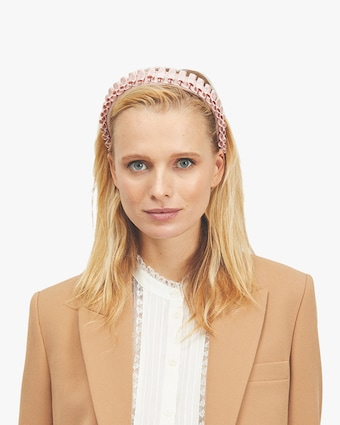Eugenia Kim Rafael Satin Headband 2