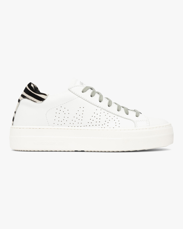 Thea Zebra Low-Top Sneaker