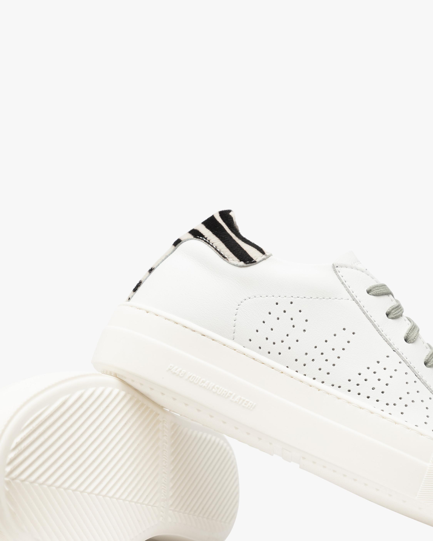 P448 Thea Zebra Low-Top Sneaker 4