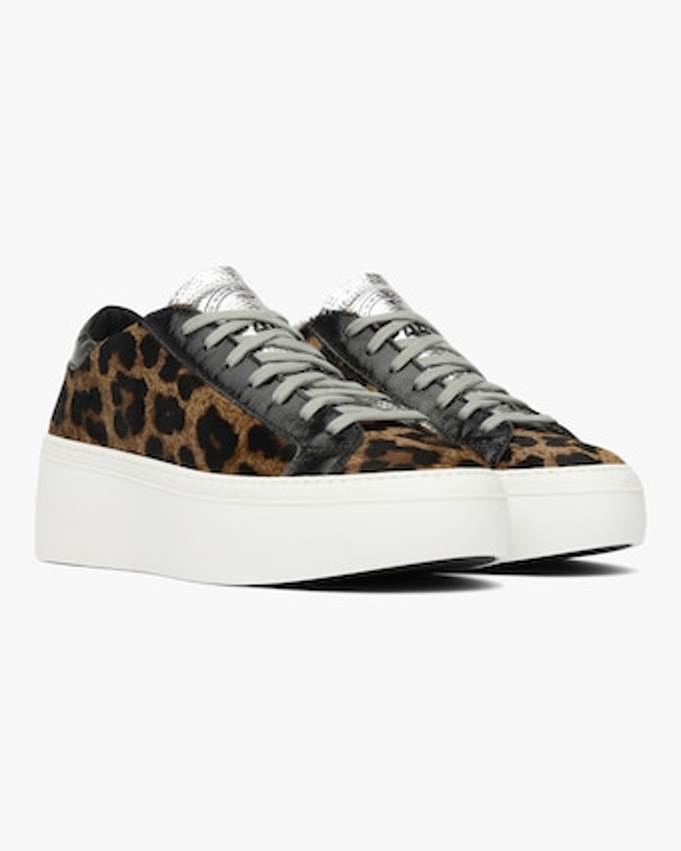 P448 Lousie Leopard Low-Top Sneaker 2