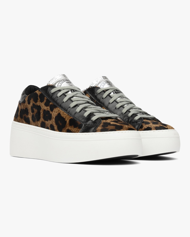 P448 Lousie Leopard Low-Top Sneaker 1