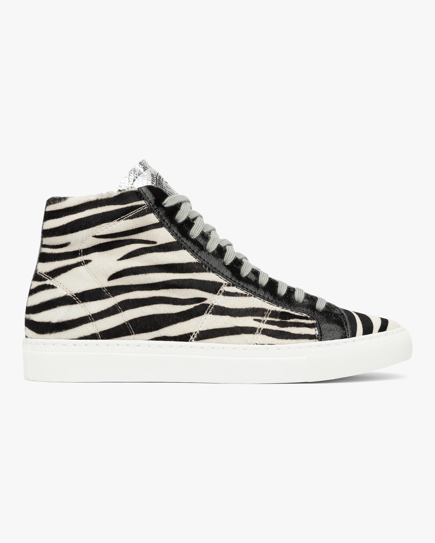 P448 The Star Zebra High-Top Sneaker 0