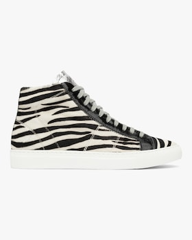 The Star Zebra High-Top Sneaker