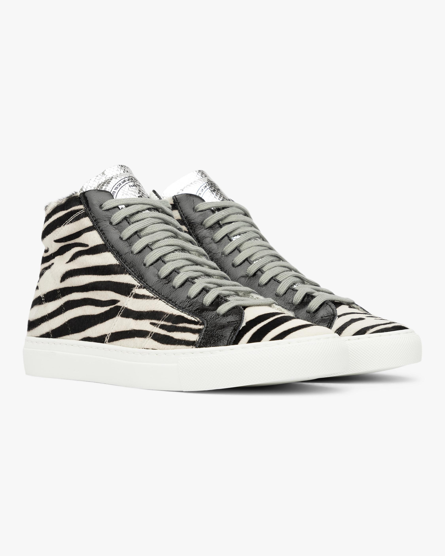 P448 The Star Zebra High-Top Sneaker 1