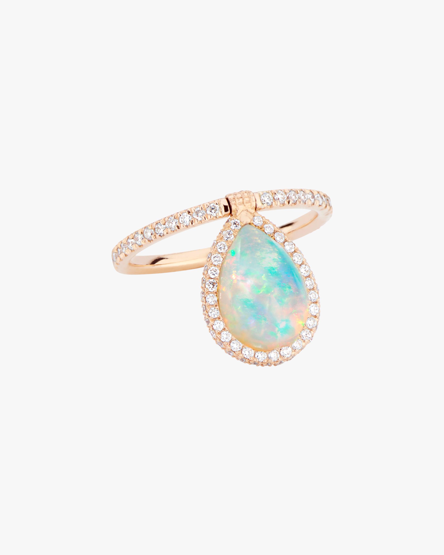 Opal & Diamond Flip Ring