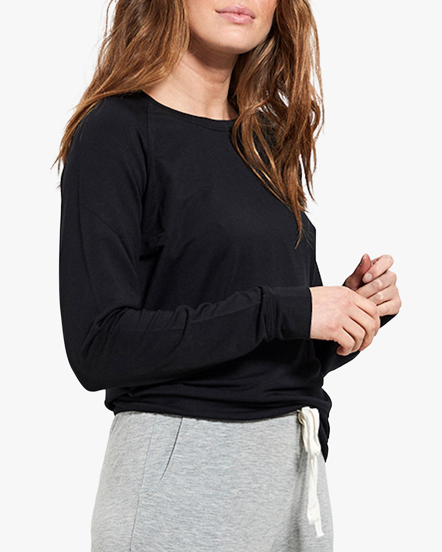Stripe & Stare Black Sweatshirt 0