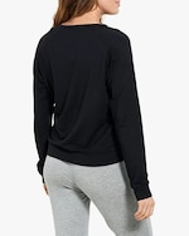 Stripe & Stare Black Sweatshirt 1