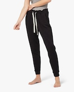 Stripe & Stare Black Lounge Pants 0