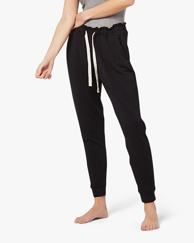 Stripe & Stare Black Lounge Pants 1