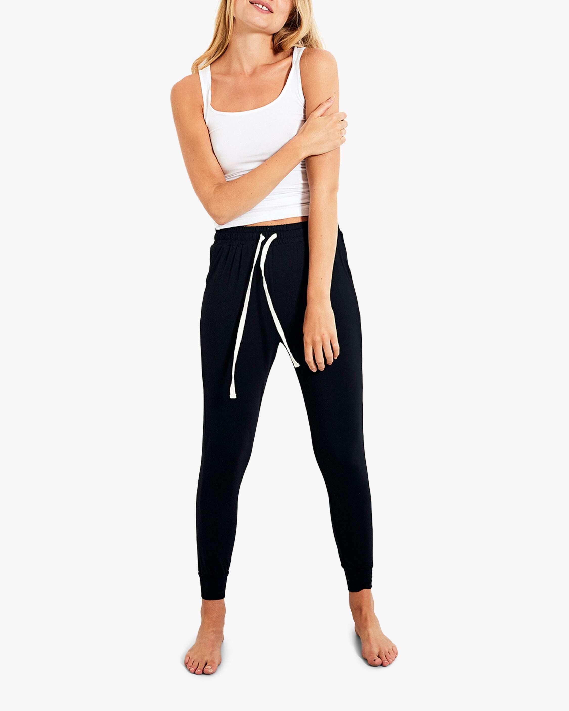 Stripe & Stare Black Lounge Pants 2