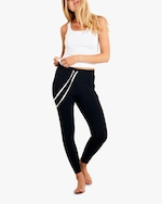 Stripe & Stare Black Lounge Pants 4