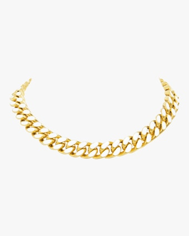 Enamel Chain Necklace