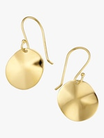 Ippolita Classico Mini Wavy Disc Earrings 0