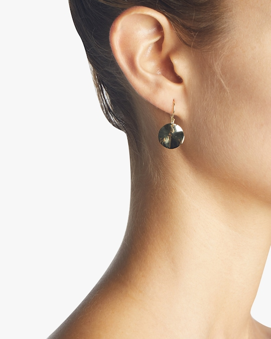 Ippolita Classico Mini Wavy Disc Earrings 1