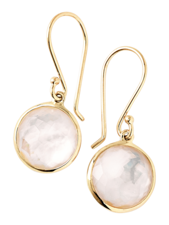 Lollipop Mother-of-Pearl Drop Earrings