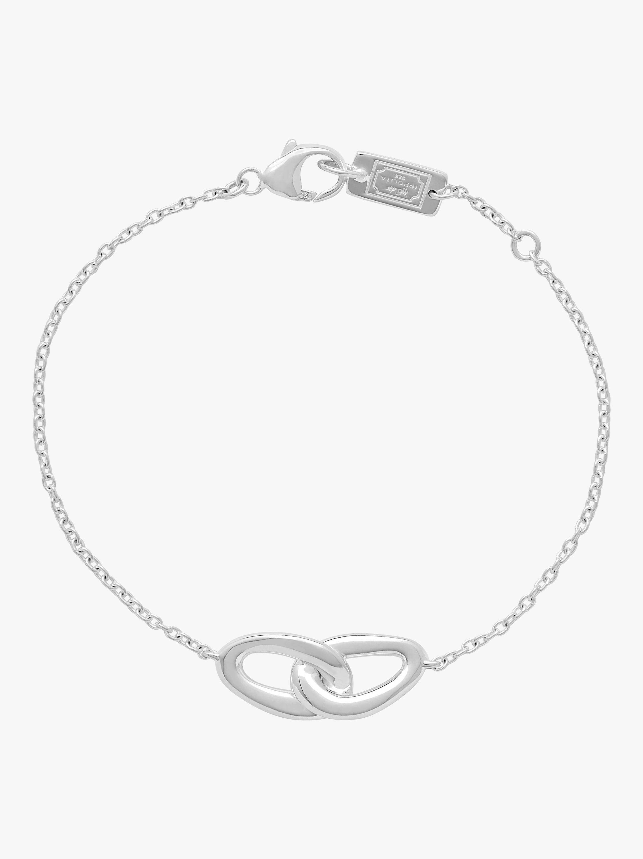 925 Cherish Interlaced Links Bracelet