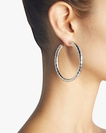 Ippolita Classico Large Hammered Hoop Earrings 2