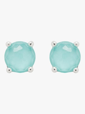 Rock Candy Turquoise Stud Earrings