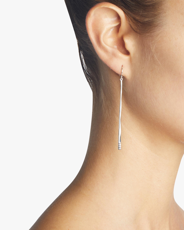 Stardust Thin Stick Earrings
