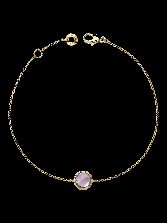 Lollipop Amethyst Bracelet