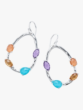 Rock Candy Mixed Stone Earrings